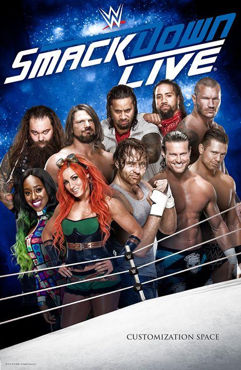 WWE Friday Night Smackdown (16 October 2020) English 720p HDRip 600MB Download | 10starhd.pro